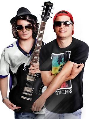 Lucca Diniz e Daniel Marques (Foto: Arquivo Pessoal / Tv Globo)