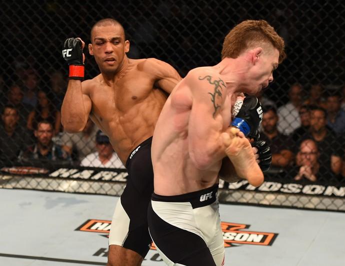 Edson Barboza e Paul Felder UFC Chicago (Foto: Getty Images)