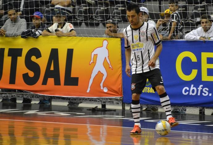 Neto Corinthians futsal (Foto: Ronaldo Oliveira)