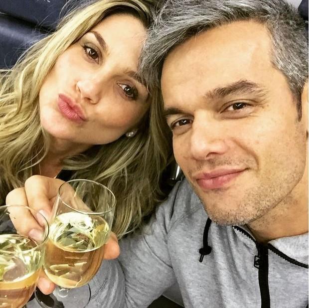 Flavia Alessandra e Otaviano Costa (Foto: Instagram / Reprodução)