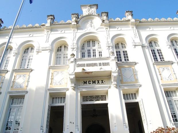 Câmara Municipal do Recife (Foto: Luna Markman/G1)