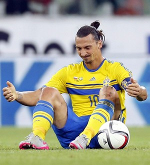 Zlatan Ibrahimovic Suécia Rússia (Foto: EFE)