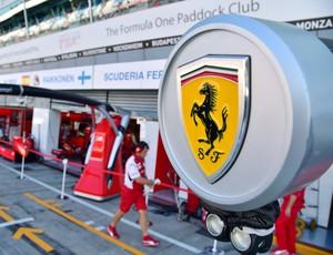 Ferrari GP Itália - treino (Foto: Getty Images)