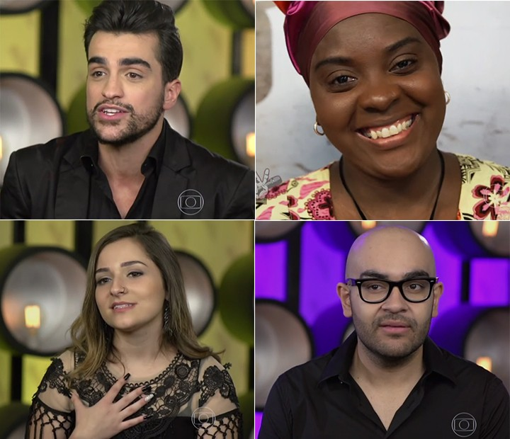 Cantores estão ansiosos para a nova fase do programa (Foto: Globo)