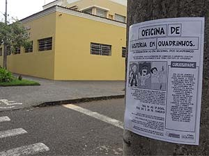 Oficina de HQ será oferecida na Biblioteca Municipal de Uberlândia (Foto: Hugo Oliveira/Arquivo Pessoal)