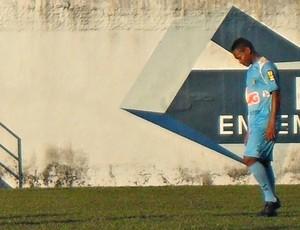 Alex Maranhão, jogador do Nacional-MG (Foto: Cleber Corrêa/GLOBOESPORTE.COM)