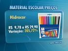 Gastos com material escolar devem subir 5% em 2014, diz pesquisa