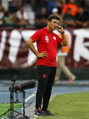 Zé Ricardo - Fluminense x Flamengo - Final da Taça Guanabara 2017 (Foto: André Durão)