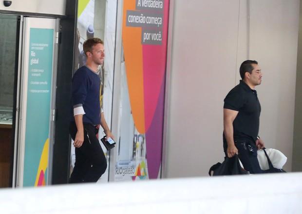 Chris Martin, vocalista do ColdPlay  (Foto: AgNews/)