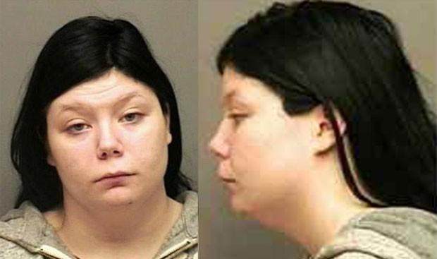 Em novembro, a americana Lynette Lee, de 27 anos, foi presa em Clarksville, no estado do Tennessee (EUA), após fazer uma denúncia falsa que havia sido estuprada, pois 'não tinha gostado' de ter relações sexuais com um parceiro. Ela alegou que fez a falsa  (Foto: Divulgação)