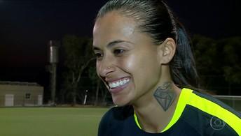 Andressa Alves é o novo reforço do Barcelona e vai conhecer Messi, Suarez e Neymar