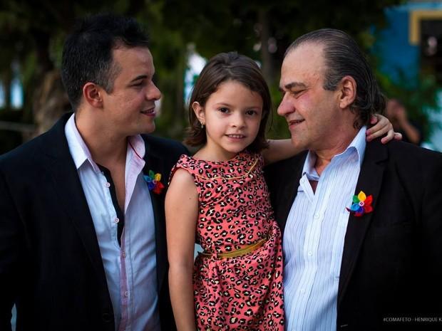 Decisão sobre paternidade socioafetiva é inédita no Ceará (Foto: Arquivo pessoal)