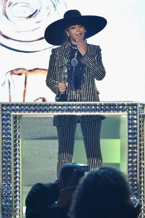 Beyoncé em prêmio de moda em Nova York, nos Estados Unidos (Foto: Theo Wargo/ Getty Images/ AFP)