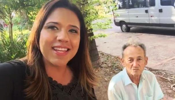 A repórter Katiuscia Reis estará no Jardim alto da Boa Vista, nesta quarta (23) (Foto: Reprodução TV Fronteira)
