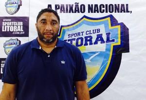 Renê Marques será o técnico do Naviraiense em 2016 (Foto: Divulgação/SC Litoral)