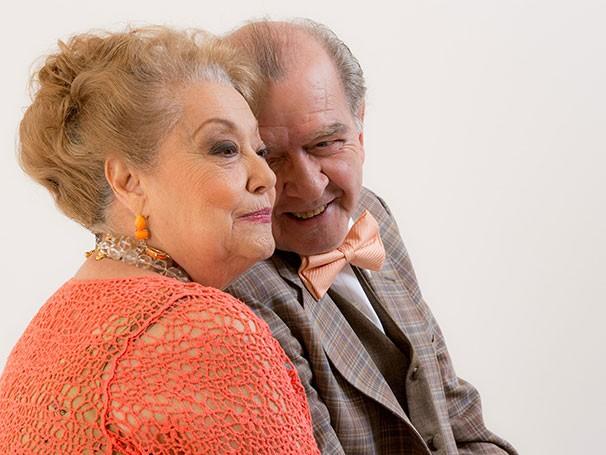 Suely Franco e Umberto Magnani em cena: direção de Elias Andreato (Foto: Guga Melgar)