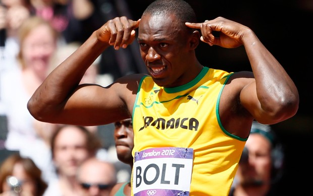 usain bolt atletismo londres 2012 (Foto: Agência Reuters)