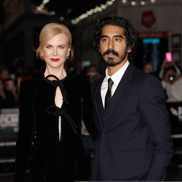 Nicole e Dev Patel (Foto: Getty Images)