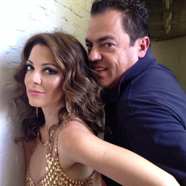 Ana Paula Padrão e Marco Antonio di Biaggi (Foto: Reprodução/Instagram)
