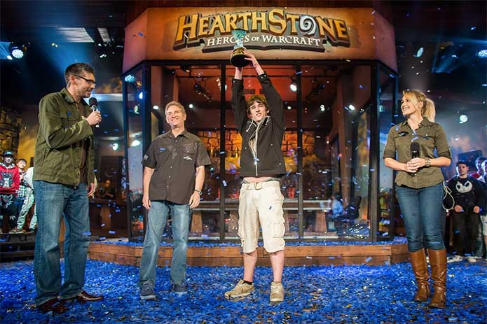 Torneio de Hearthstone na BlizzCon 2014 (Foto: Divulgação/Blizzard)