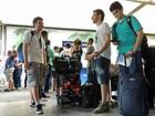 'Campuseiros' chegam ao Recife com bagagem cheia de expectativa