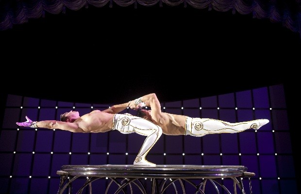 Circo Tihany apresenta o espetáculo AbraKdabra, em Goiânia (Foto: Divulgação)