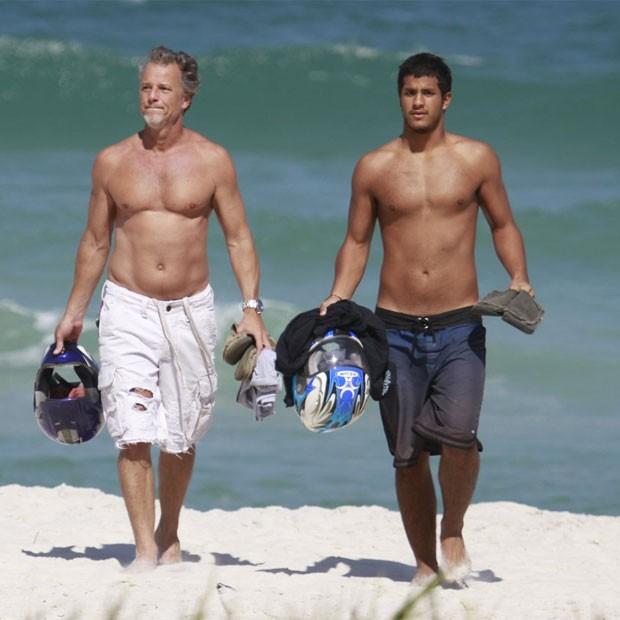 Marcello e Diogo Novaes (Foto: Dilson Silva/AgNews)