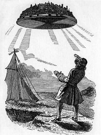Ilustração original de 'As viagens de Gulliver' (Foto: Wikimedia Commons)