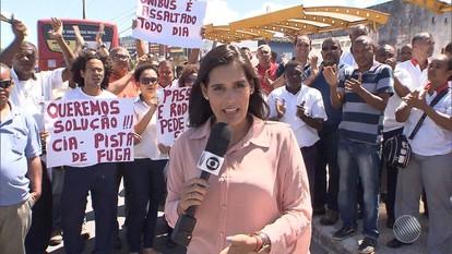Rodoviários da região Metropolitana de Salvador pararam as atividades nesta terça (06)