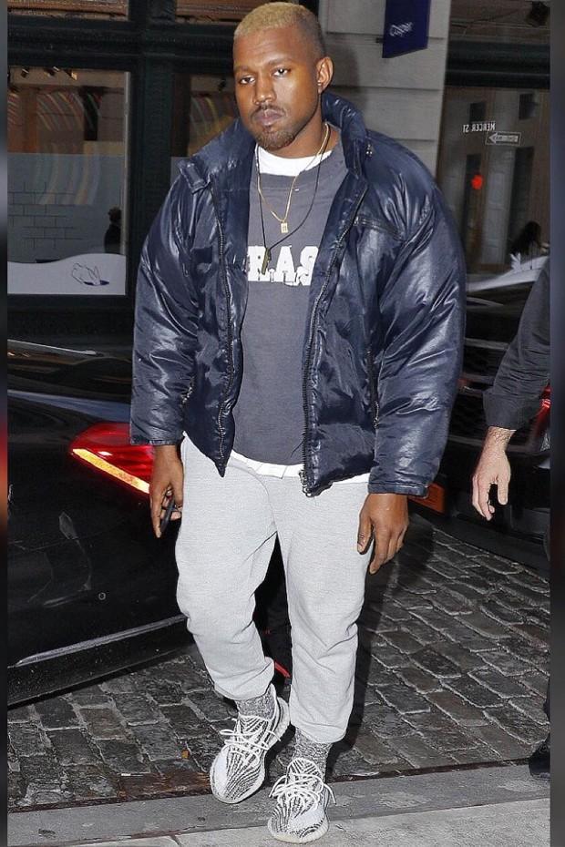 Kanye West no Soho, em NY (Foto: Instagram @YeezysCloset)