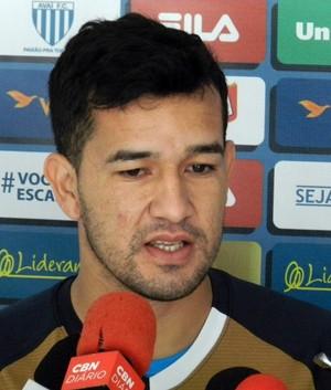 Néstor Camacho Avai (Foto: André Palma/Avaí)