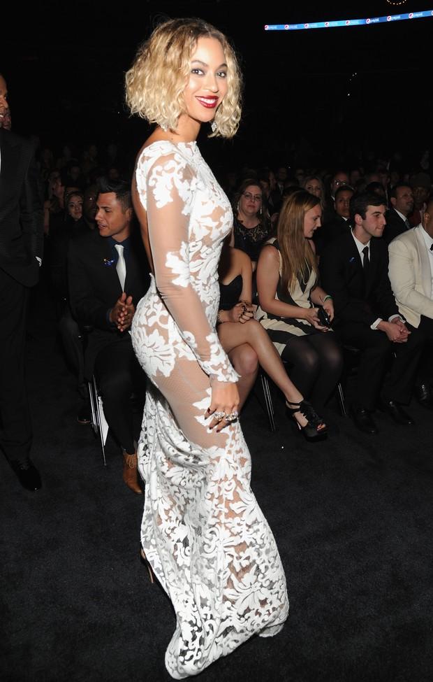 Beyoncé no Grammy Awards 2014 (Foto: Getty Images)