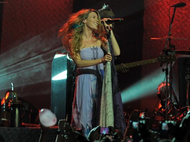 Joss Stone canta em SP (Foto: Flavio Moraes/G1)