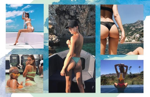 Ah, o verão... Como posar na praia como uma modelo (Foto: Reprodução/ Instagram)