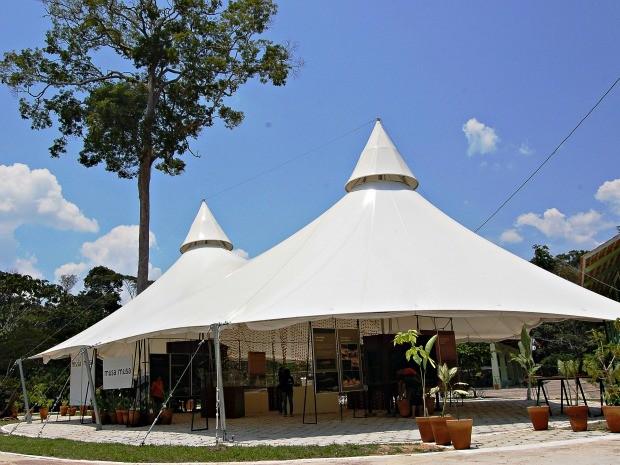 Instalações onde são sediadas as exposições no Museu da Amazônia, em Manaus (Foto: Museu da Amazônia / Vanessa Gama)