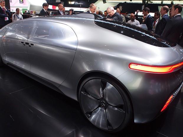 Mercedes-Benz F015 Concept (Foto: Divulgação/Newspress)