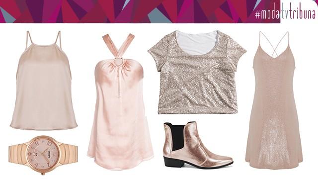 Inspirações da tonalidade sofisticada e feminina rosé gold (Foto: Divulgação)