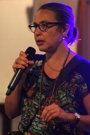 Marcia Zanelatto, idealizadora da Ocupação Rio Diversidade (Foto:  Arthur Morsch/Divulgação)