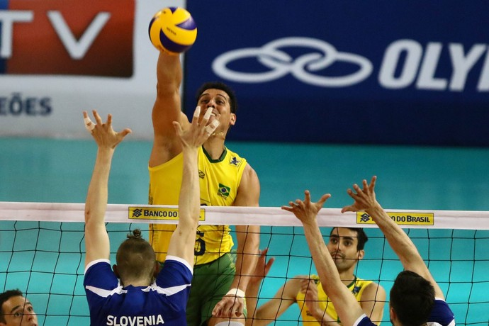 Brasil garante a segunda vitória sobre a Eslovênia