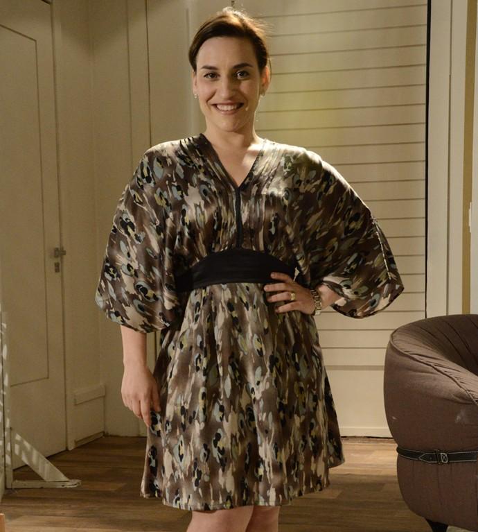 Simone Gutierrez na época de 'Cheias de Charme' como Ariela (Foto: Gshow)
