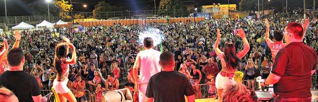 'Novo Carnaboi' reúne 60 mil pessoas em cinco zonas da capital amazonense (Marcos Dantas/G1 AM)