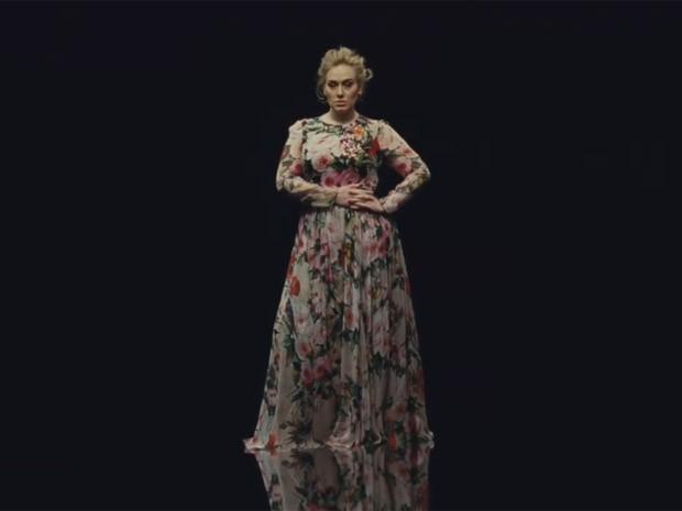 Adele divulga trecho do clipe de 'Send my love (To your new lover)' (Foto: Reprodução/Facebook)