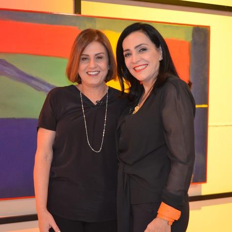 Cláudia Calirman e Liliana Rodriguez (Foto: Divulgação)