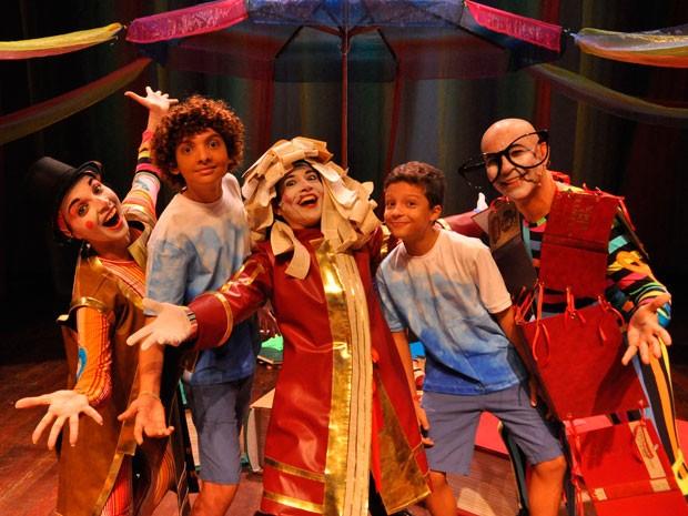 Espetáculo Circo de Só Ler será apresentado no mês de março, no teatro Jorge Amado, em Salvador. (Foto: Divulgação)