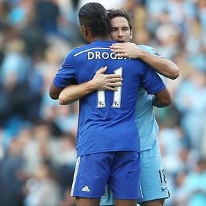 Drogba manda recado a Lampard (Foto: Instagram)