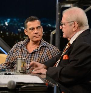 Claudio Botelho conta como é dirigir Renato Aragão (TV Globo/Programa do Jô)