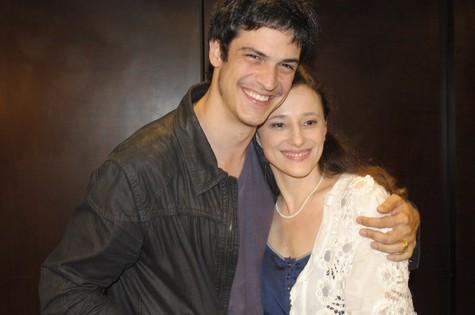 Paula Braun e Mateus Solano (Foto: Felipe Paiva)