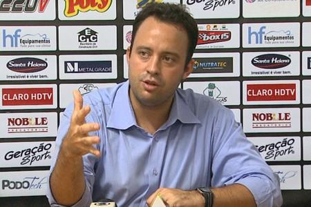 David Isaac, presidente do conselho do Comercial (Foto: Reprodução EPTV)