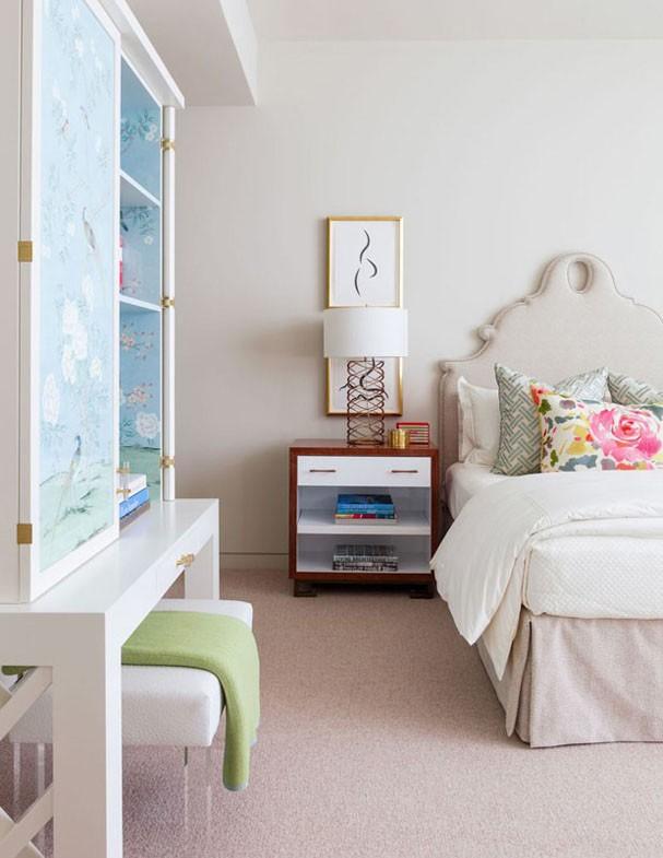 15 quartos em diferentes tons de rosa Casa Vogue Ambientes ~ Quarto Rosa E Turqueza