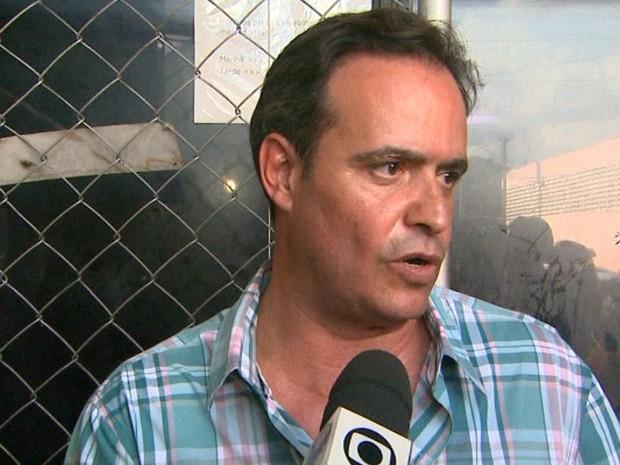 O empresário Fabiano Cardoso disse ter sido avisado de roubo antes de voltar para a empresa em Ribeirão Preto (Foto: Ronaldo Gomes/EPTV)